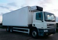 large refridgerated daf truck