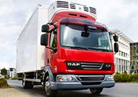 refridgerated daf truck